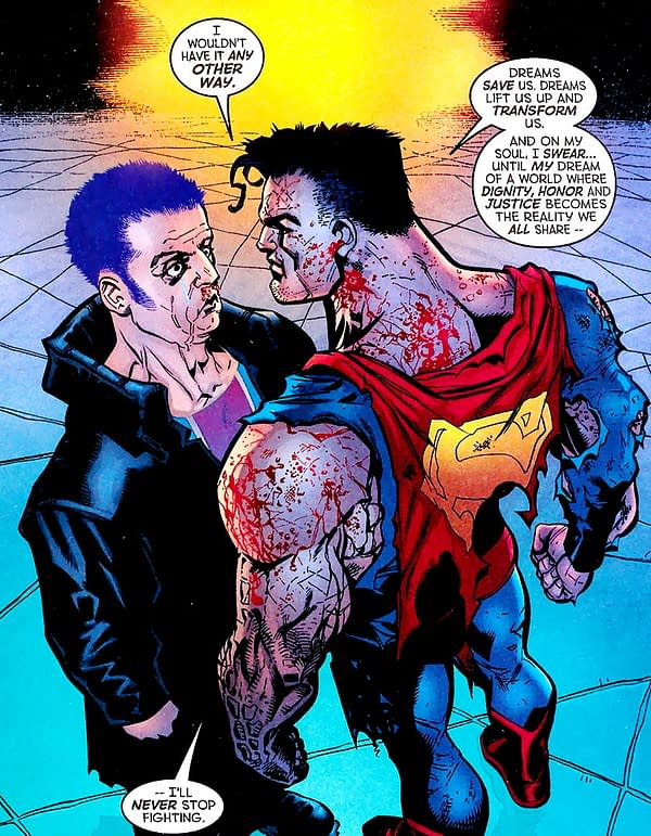 More Gossip on Superman Joining The Authority – Maybe