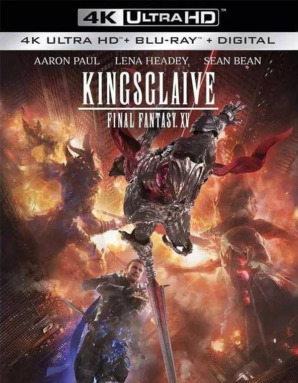 Final Fantasy Film Kingsglaive Hits 4K Blu-ray March 30
