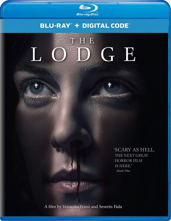 The Lodge hits Blu-ray, digital, and Hulu on May 5th.