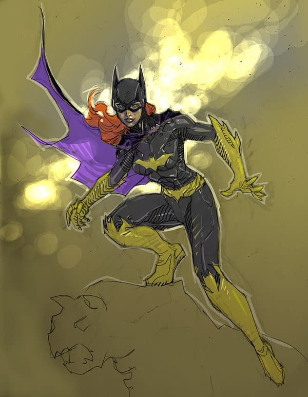 Lots Of Art From DC's Designing The New DCU 52 Panel
