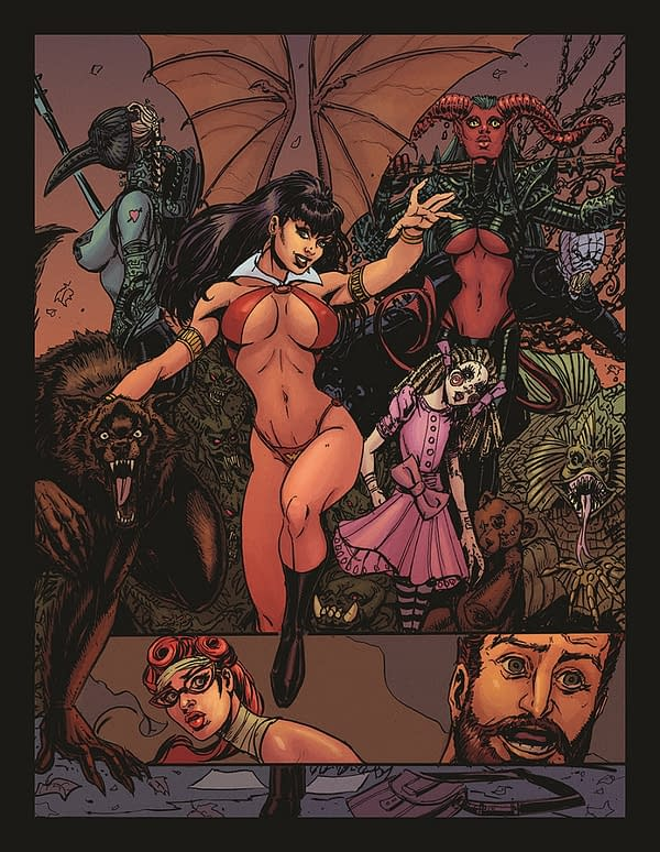 The Daily LITG, 21st March 2019 – Vampirella Spreads Out