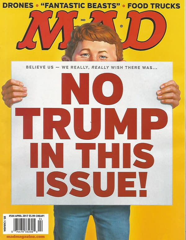 """Eric Powell Wants to Start a """"Gives No @#$%s"""" Mad Magazine Replacement"""