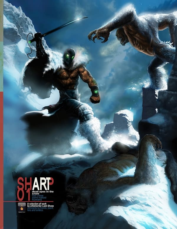 San Diego Debut – Liam Sharp's Dead Apes In The Snow