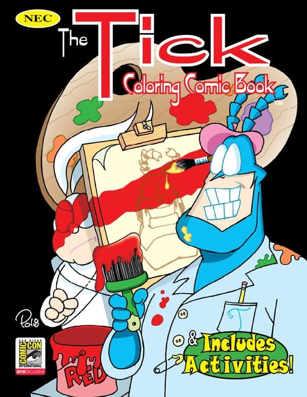 New England Comics Launches The Tick #0 For San Diego Comic-Con