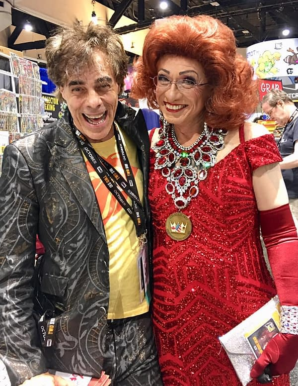Chuck Rozanski Gives Bettie Pages Her San Diego Comic-Con Debut