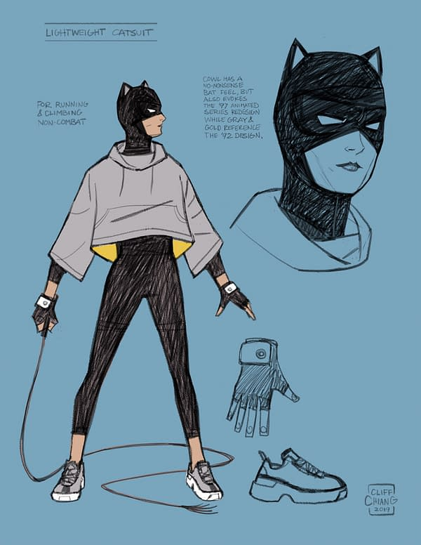 Lonely City: Cliff Chiang Catwoman Series Set for DC Black Label