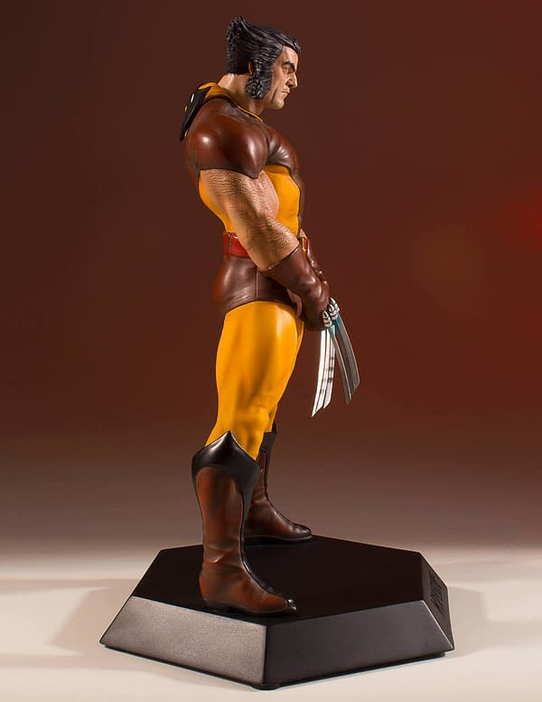 Wolverine Gets a Brown Suit Statue from Gentle Giant Celebrating 45 Years