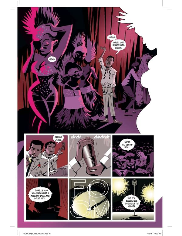 Preview: Alex De Campi and Victor Santos' Bad Girls from Gallery 13