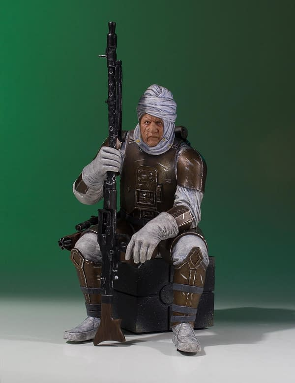 Star Wars Gentle Giant Dengar Statue 1