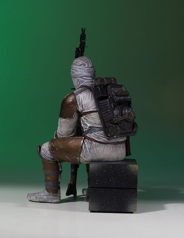 Star Wars Gentle Giant Dengar Statue 3