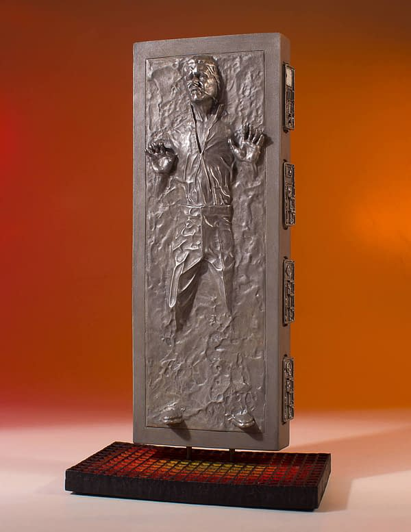 Star Wars Gentle Giant Han Solo in Carbonite 2