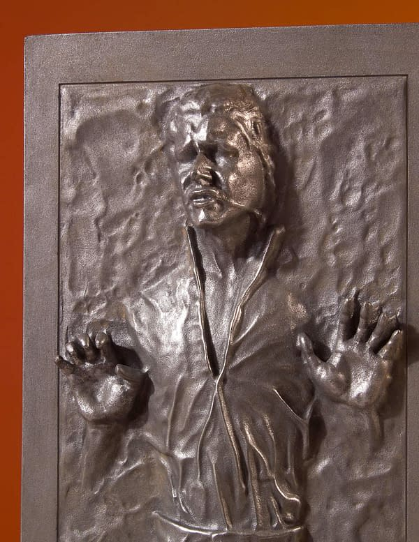 Star Wars Gentle Giant Han Solo in Carbonite 5