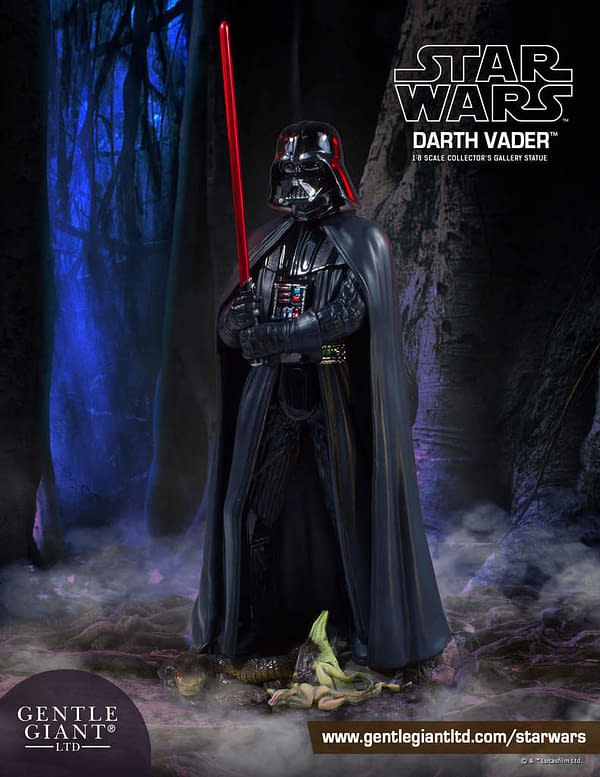Gentle Giant Darth Vader ESB Cave Statue