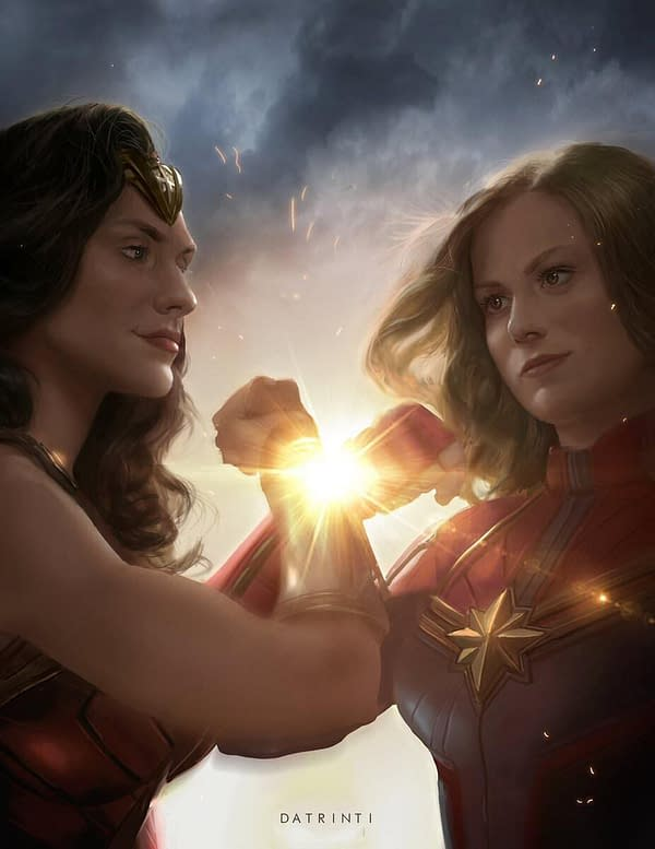 Gail Simone Wants Wonder Woman-Captain Marvel Crossover, SOMEONE MAKE IT HAPPEN