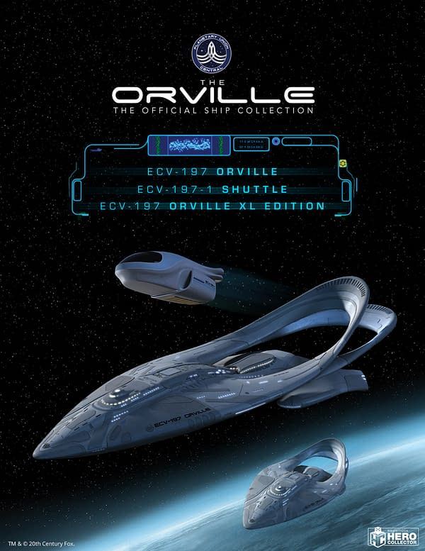 The Orville Starship Collection Comes To Comic-Con@Home.