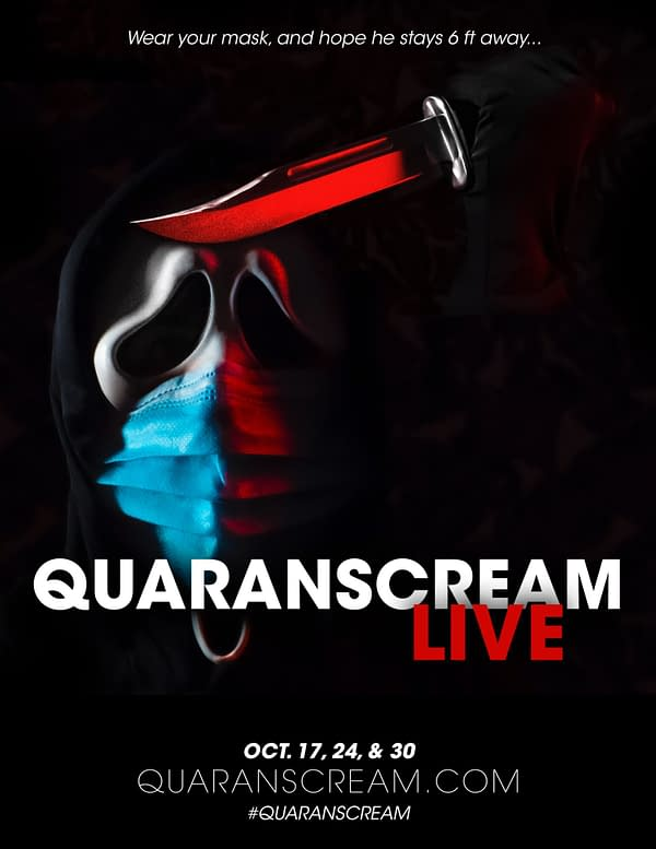 QuaranSCREAM Brings Immersive Horror to a Live Audience