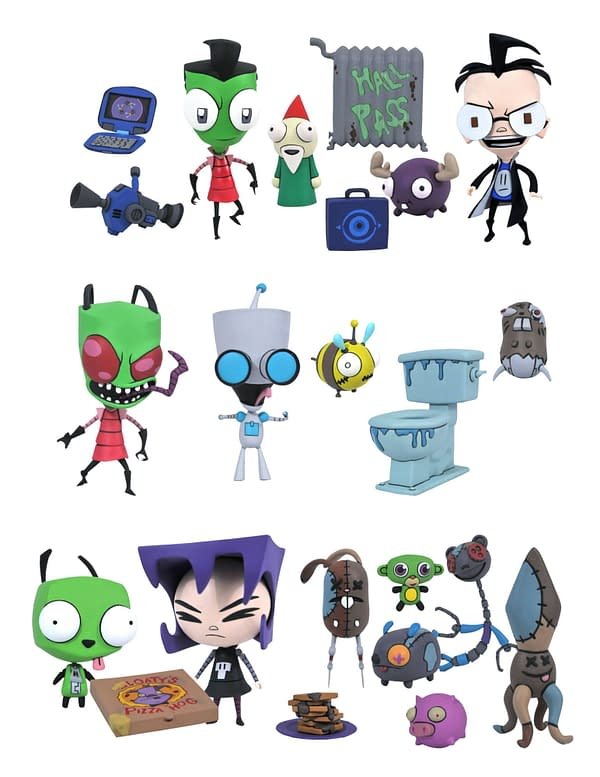 Invader Zim Is Back With New Figures From Diamond Select