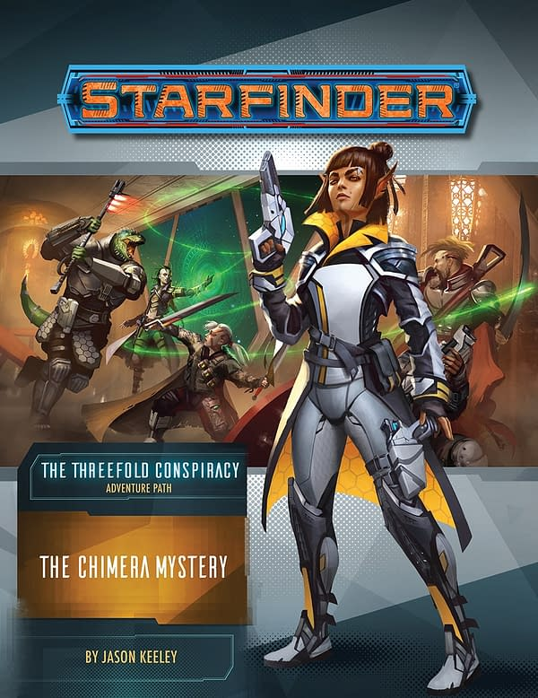 """""""Starfinder: The Threefold Conspiracy"""" Releases New Adventure"""