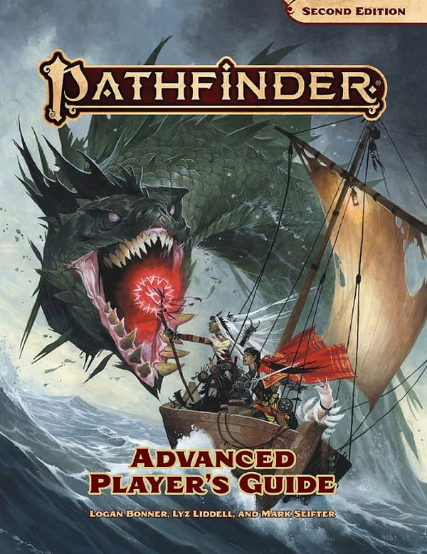 Paizo's Advanced Player's Guide for the second edition of their famous fantasy Role-playing game, Pathfinder.