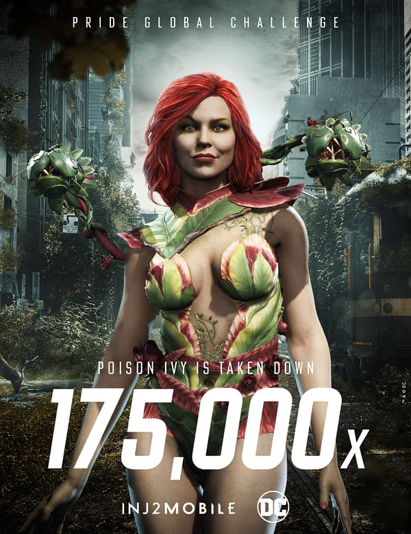 """Is DC Comics' """"Pride Global Challenge"""" really going to kill Poison Ivy? Courtesy of WB Games."""