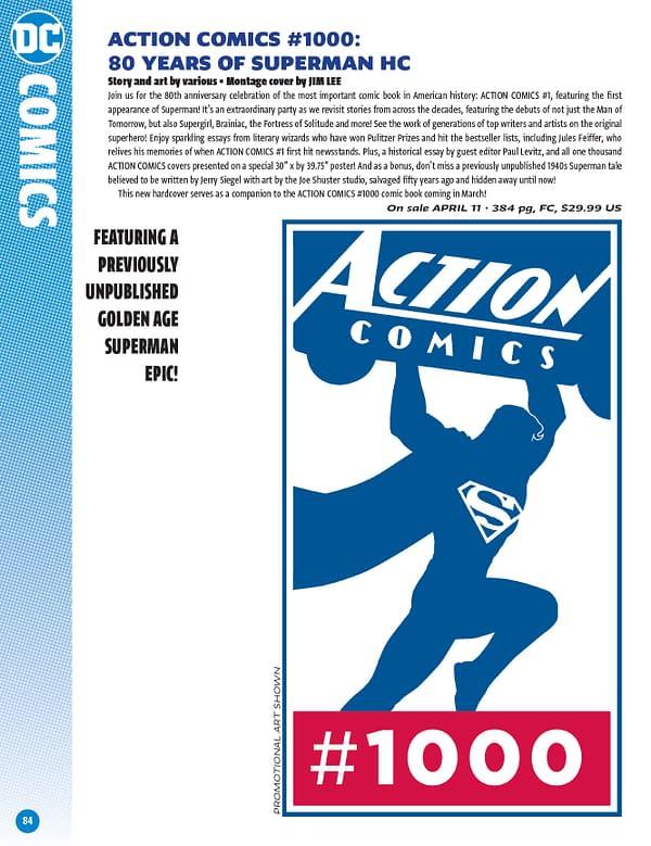DC Comics Previews Catalogue For February 2018 Solicits
