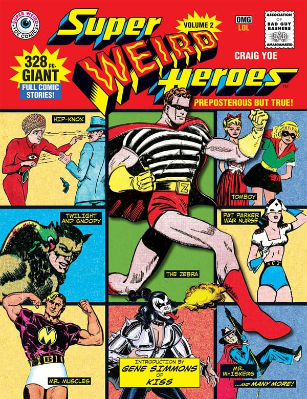 Super Weird Heroes Volume 2, Intro by Gene Simmons of KISS