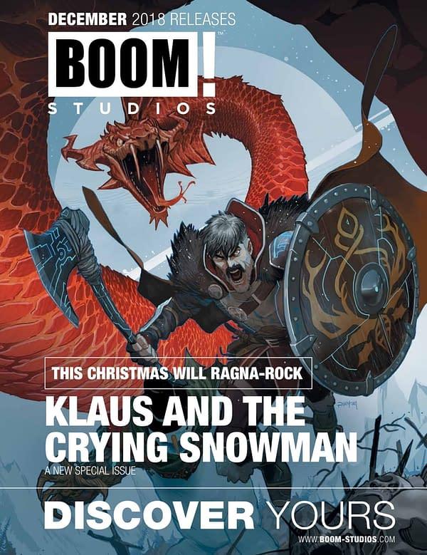 Full Boom Studios Catalog For December 2018 Solicitations Sees Grant Morrison and Dan Mora Return to Klaus