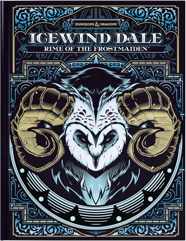 The alternative cover for Icewind Dale: Rime Of The Frostmaiden, courtesy of WotC.