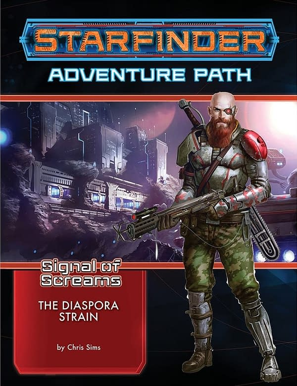 Starfinder's Signal of Screams Gets New Adventure: The Diaspora Strain