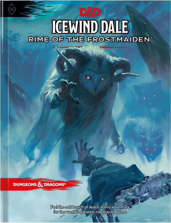 The main cover for Icewind Dale: Rime Of The Frostmaiden, courtesy of WotC.