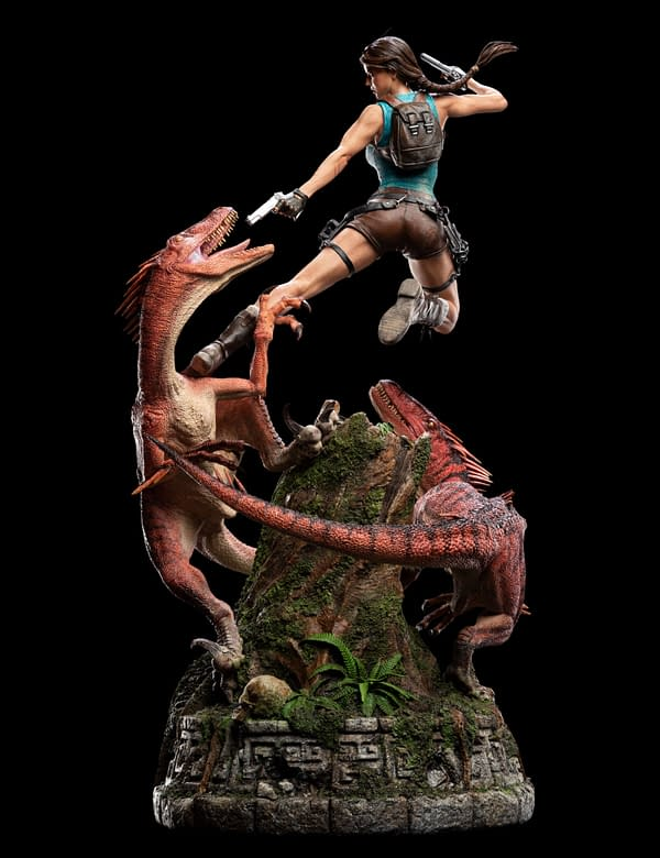 Tomb Raider Explores A Forgotten Time With Weta Workshop