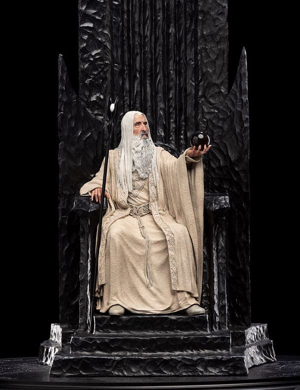 The Lord of the Rings Saruman the White Comes to Weta Workshop