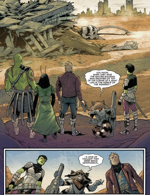 The Final Fate of Willie Lumpkin? Old Man Quill #7 Preview