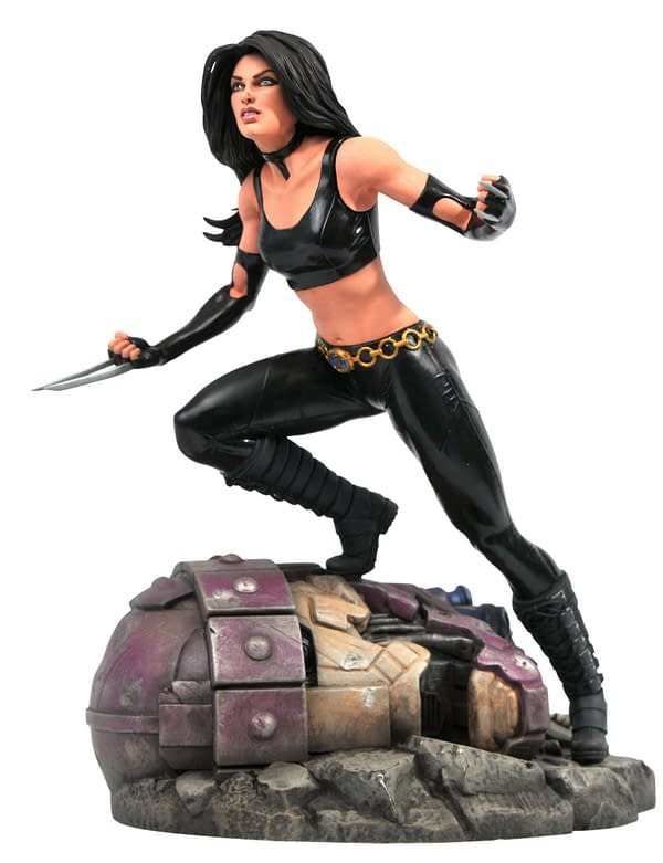 New Marvel Diamond Select Statues Arrive with Doom, X-23, and Hawkeye