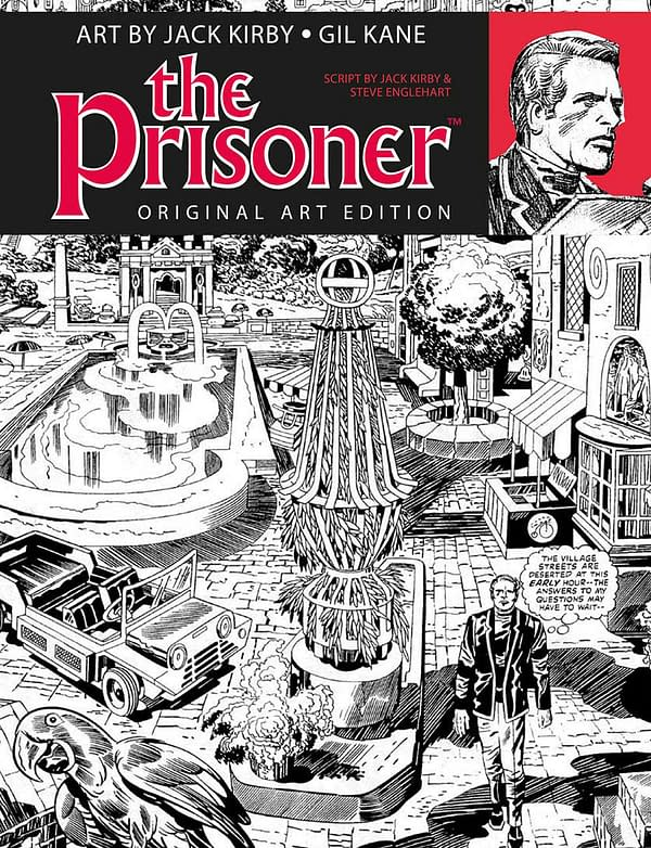 Titan to Release Unpublished The Prisoner Comics by Jack Kirby, Gil Kane, and Steve Englehart