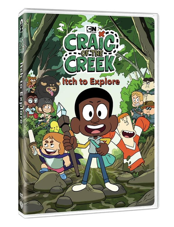 Review: Craig Of The Creek: Itch To Explore DVD