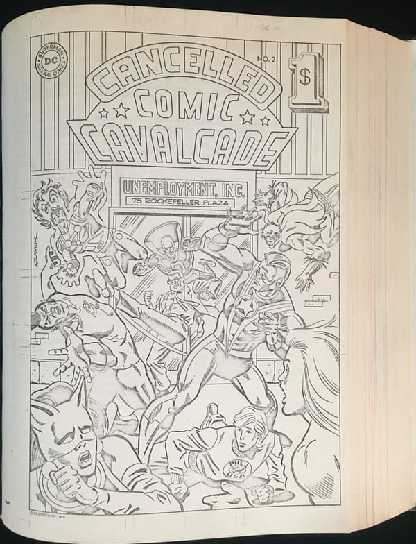 Denny O'Neil's Cancelled Comic Cavalcade Copies Up For Auction