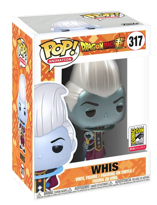 Funko SDCC Funimation Exclusive Whis Dragonball Pop
