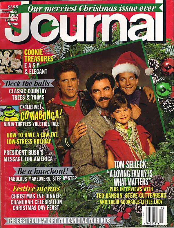 Ladies' Home Journal December 1990 Cover TMNT