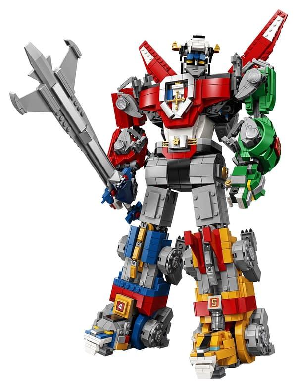 LEGO Ideas Voltron Set 26