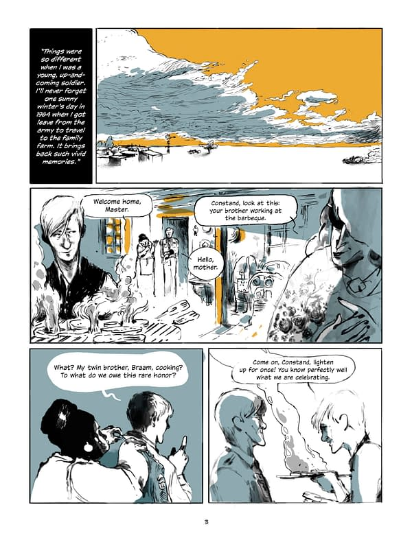 The Writer of Invictus Pens Graphic Novel, Mandela and the General