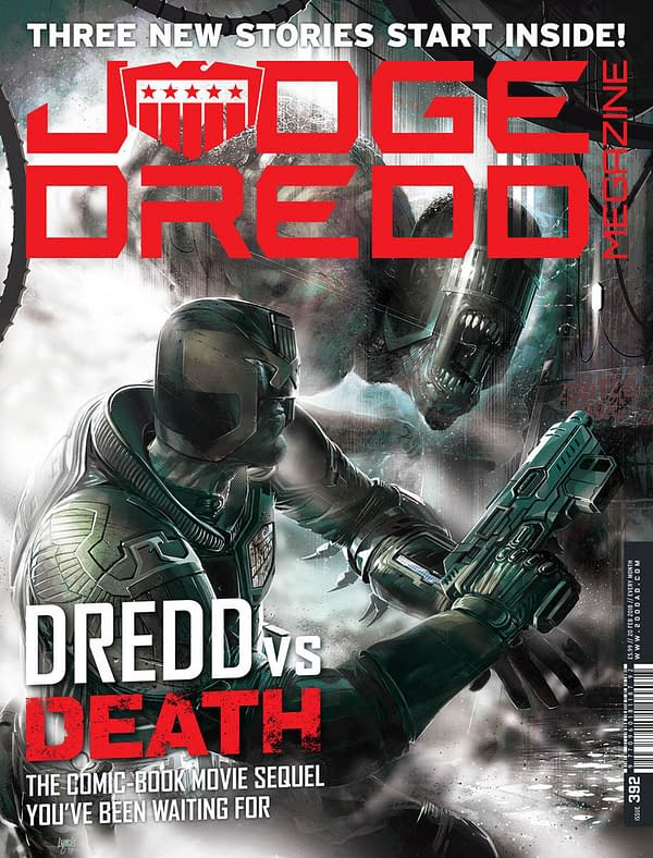 Judge Dredd Continues to Dominate: Rebellion May 2018 Solicits
