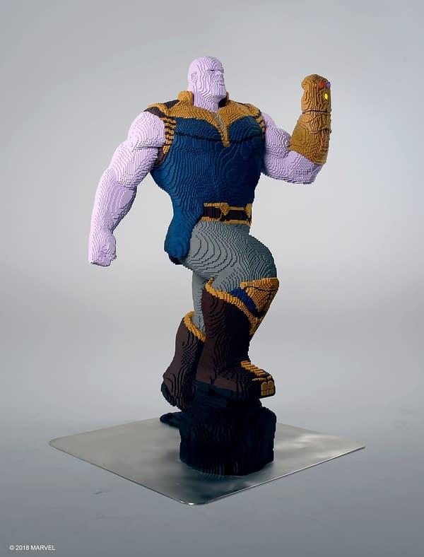 LEGO Life Size Thanos 1