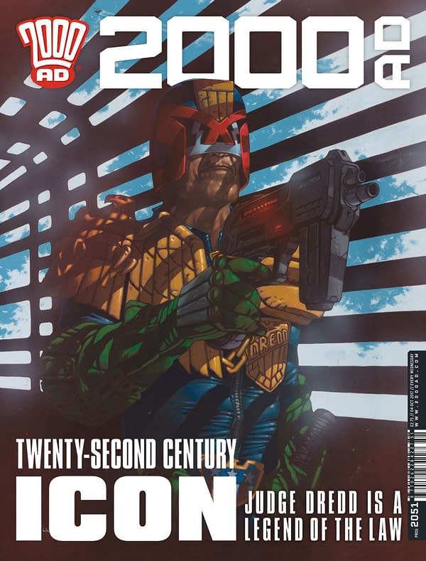 2000 AD February Solicits With T.C. Eglington, Peter Milligan, Dan Abnett, And More