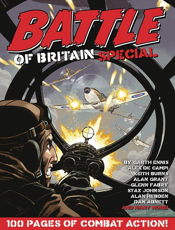 Garth Ennis & Glenn Fabry's Battle Of Britain in Rebellion Solicits .