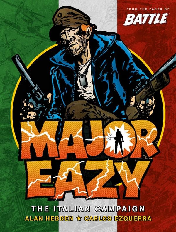 Carlos Ezquerra's Major Eazy Gets a Complete Collection in 2021.