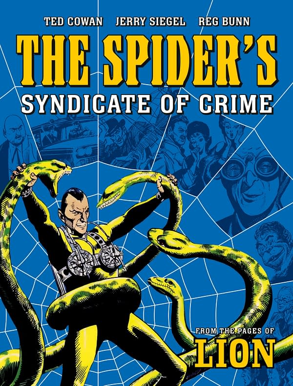 The Spider cover. Credit: Rebellion Publishing.