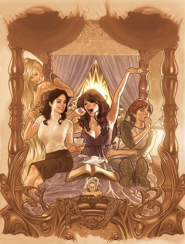 Bill Willingham, Phil Jimenez And Adam Hughes Launch Fables Spinoff, Fairest