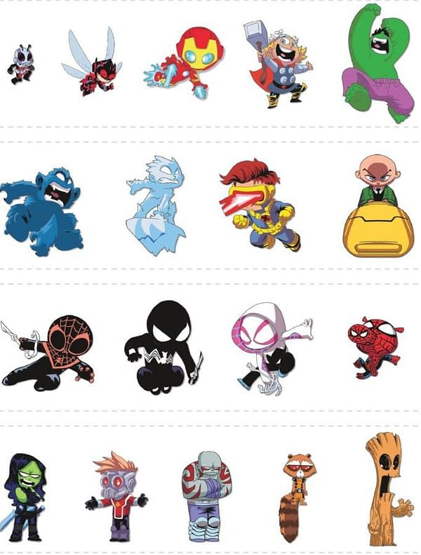 Marvel Merch for San Diego Comic-Con 2019 Revealed and It's Even Harder to Get a Full Skottie Young Pins Set…