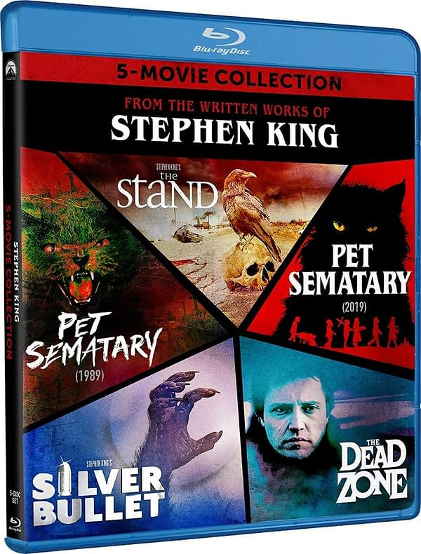 Five Stephen King Films Get Blu-ray Box Set This September